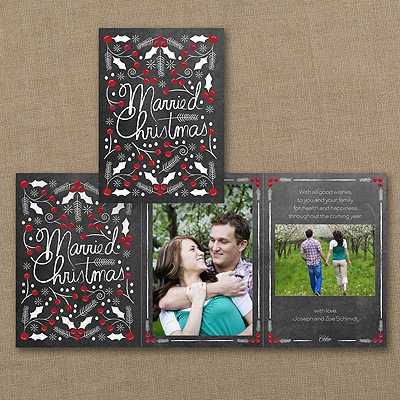 Married Christmas - Photo Holiday Card
