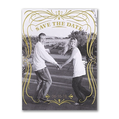 Glam Frame - Photo Save the Date