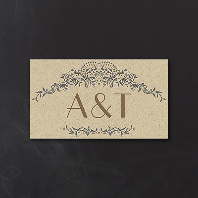Wedding Day Grandeur - Tab Card
