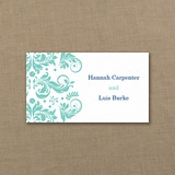 Vibrant Damask - Tab Card