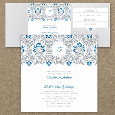 Jubilant Damask - Invitation