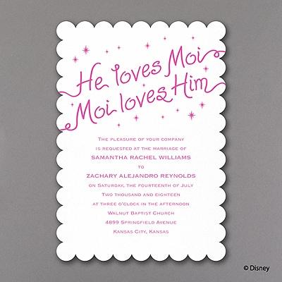 He Loves Moi - Invitation