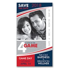 Love of the Game! Baseball - Save The Date