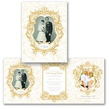 Ornate Elegance Photo Storyline - Anniversary Invitation