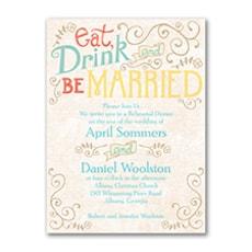 Vintage Promises - Bridal Shower Invitation