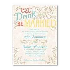 Bridal Shower Invitation: Vintage Promises