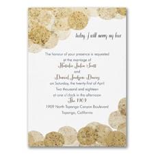 Cork Dots - Invitation