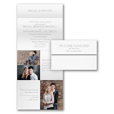Photo Collage - Seal 'n Send Invitation