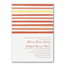 Sweet Stripes - Invitation