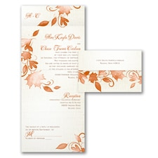 With RSVP Cards: Autumn Rustic
