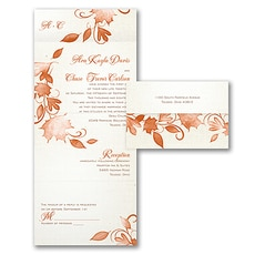 All In One Invitation: Autumn Rustic