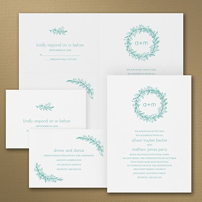 Simply Pretty - Sep 'n Send Invitation