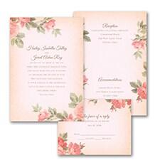 Rosy Vintage - Invitation
