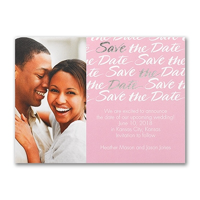 Love Sparkles - Photo Save the Date