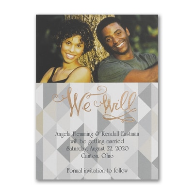 Love the Chevron - Save the Date