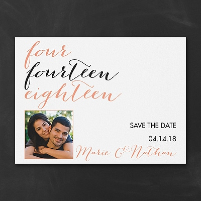 Your Type - Photo Save the Date