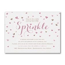 Baby Sprinkle - Baby Shower Invitation