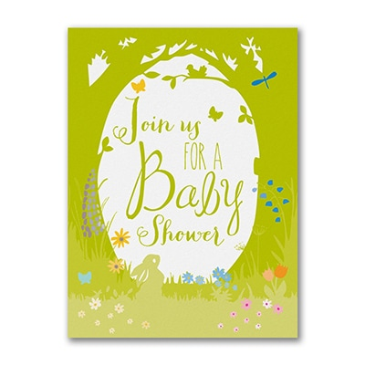 Nature Child - Baby Shower Invitation