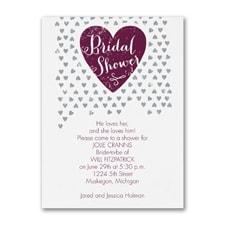 Tiny Hearts - Bridal Shower Invitation