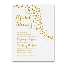 Bridal Shower Invitation: All Heart