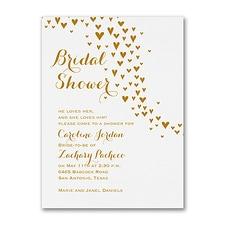 Bridal Shower Invitation: All Heart