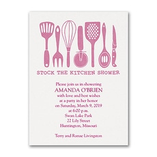 Stock the Kitchen  -