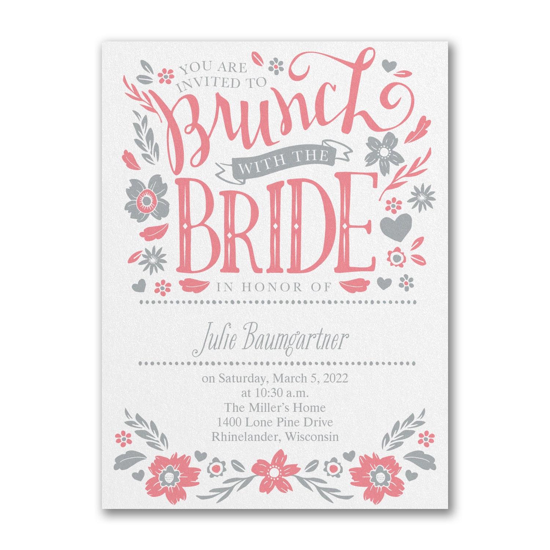 89427aa668f4 Let s Do Brunch - Bridal Shower Invitation   Bridal Shower Invitations