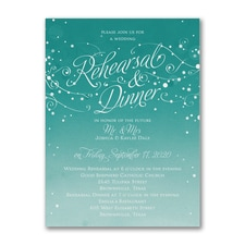 Bridal Shower Invitation: Big Night Before
