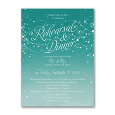 Big Night Before - Bridal Shower Invitation