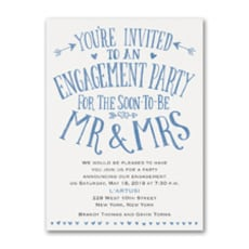 Almost Mr and Mrs - Bridal Shower Invitation