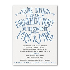 Save The Date: Almost Mrs and Mrs