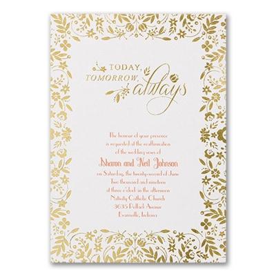 Always Love - Vow Renewal Invitation