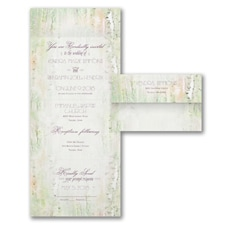 With RSVP Cards: Birch Forest