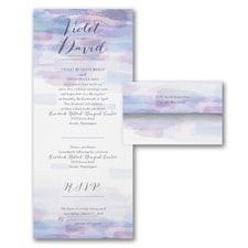 Soft Watercolor - Seal 'n Send Invitation