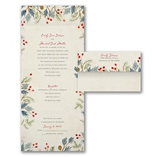 rustic invitation: Lovely Winter