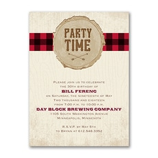 Plaid Party Time  -