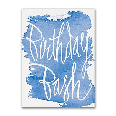 Birthday Bash - Invitation