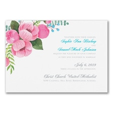 Romantic Boho - Invitation