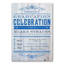 Graduation Celebration - Graduation Announcement