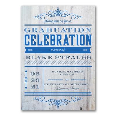 Graduation Celebration - Graduation Announcement