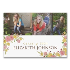 Grad Posies - Graduation Announcement