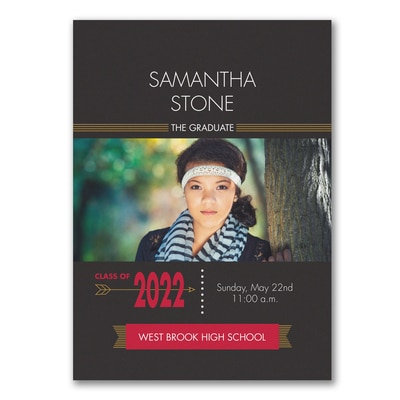 Modern Grad - Graduation Announcement
