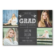 Celebrate the Graduate - Graduation Announcement