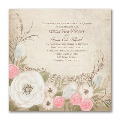 Boho Breeze - Invitation