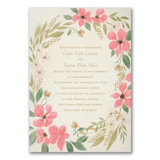 Boho Botanicals - Invitation