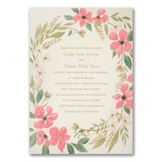 Boho Botanicals - Wedding Invitation