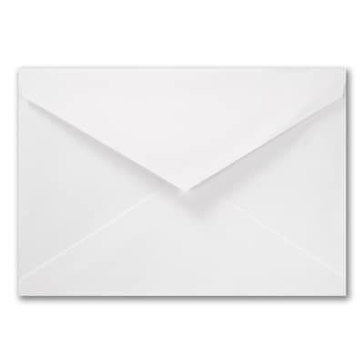6 1/2 x 9 1/4 Empire Blank Outer Envelope - White