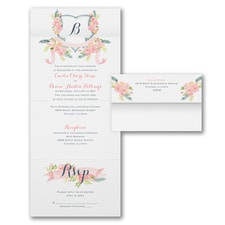 With RSVP Cards: Visions of Spring