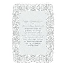 Floral Screen - Invitation