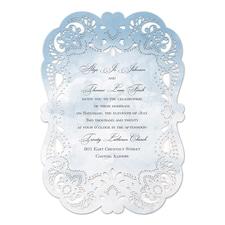 Watercolor Lace - Invitation